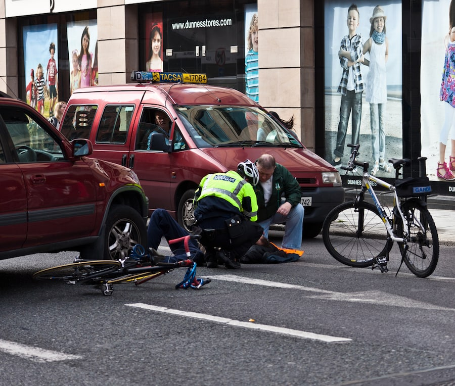 cyclist motorist accidents