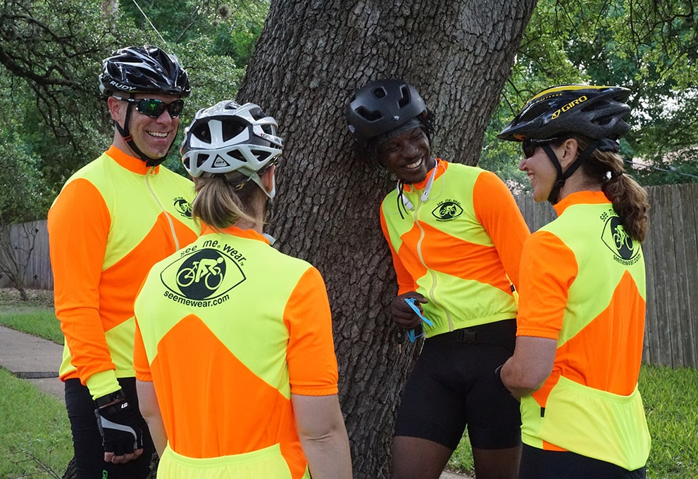 Brightest High Visibility Cycling Jersey