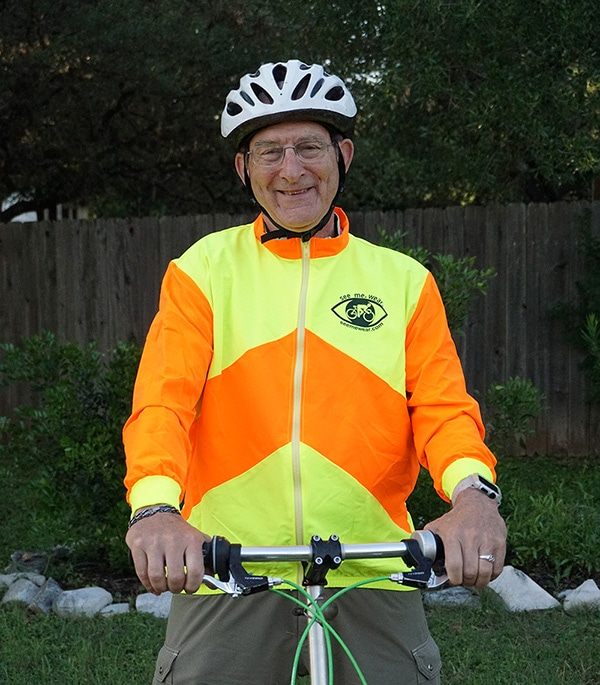 high vis cycling jacket