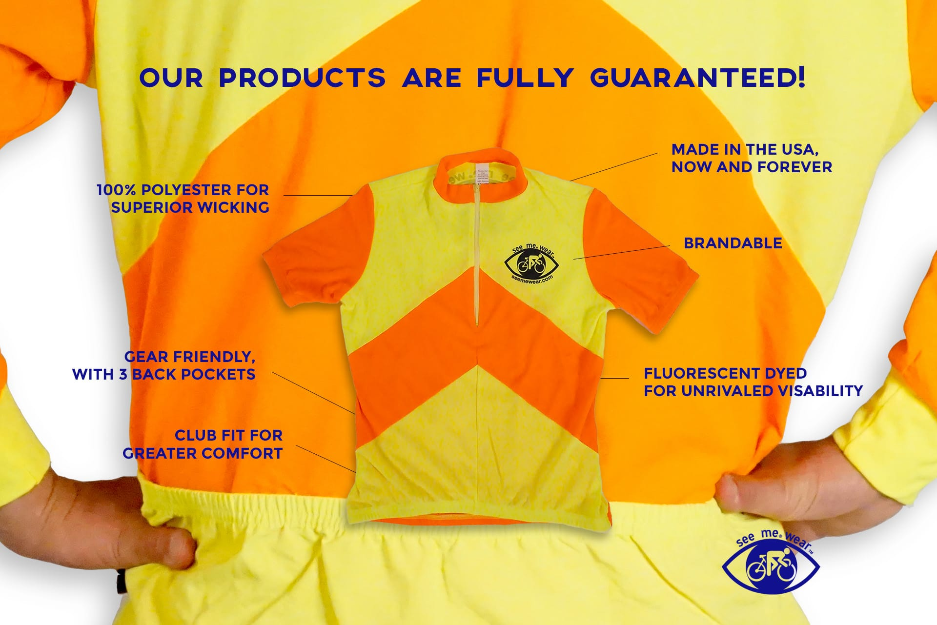 customized bike jerseys for bike safety