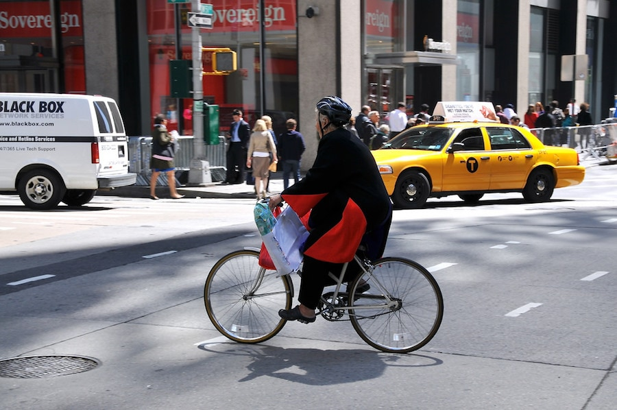 Bike safety NYC