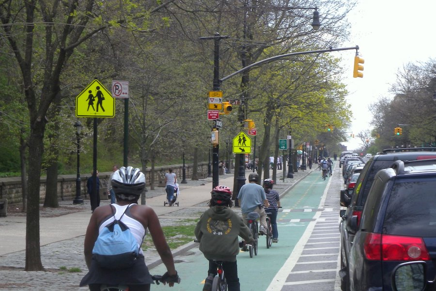 Bicycle lanes and safety issues