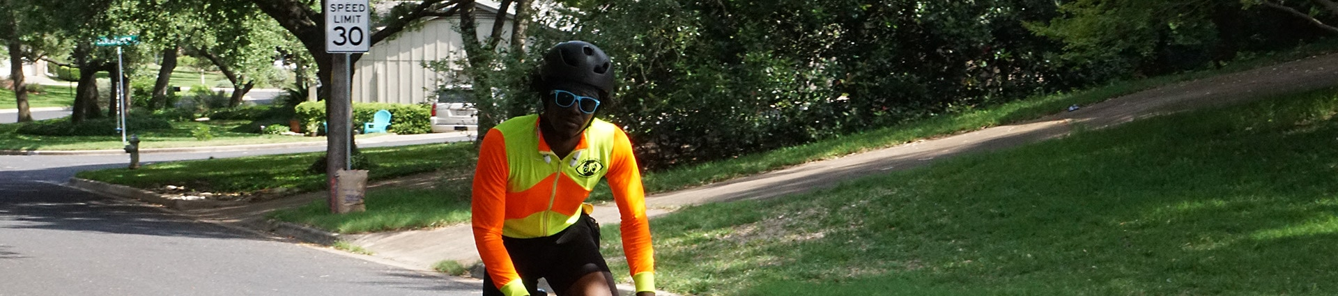 high vis cycling