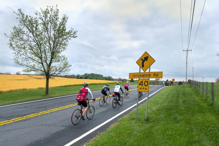 Bicycle Riding and safety on Country Roads